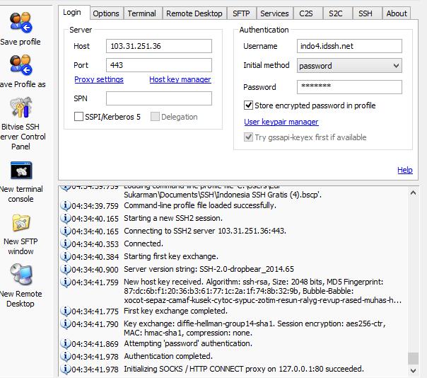 Free SSH Server Indonesia Support UDP 21-22 November 2014