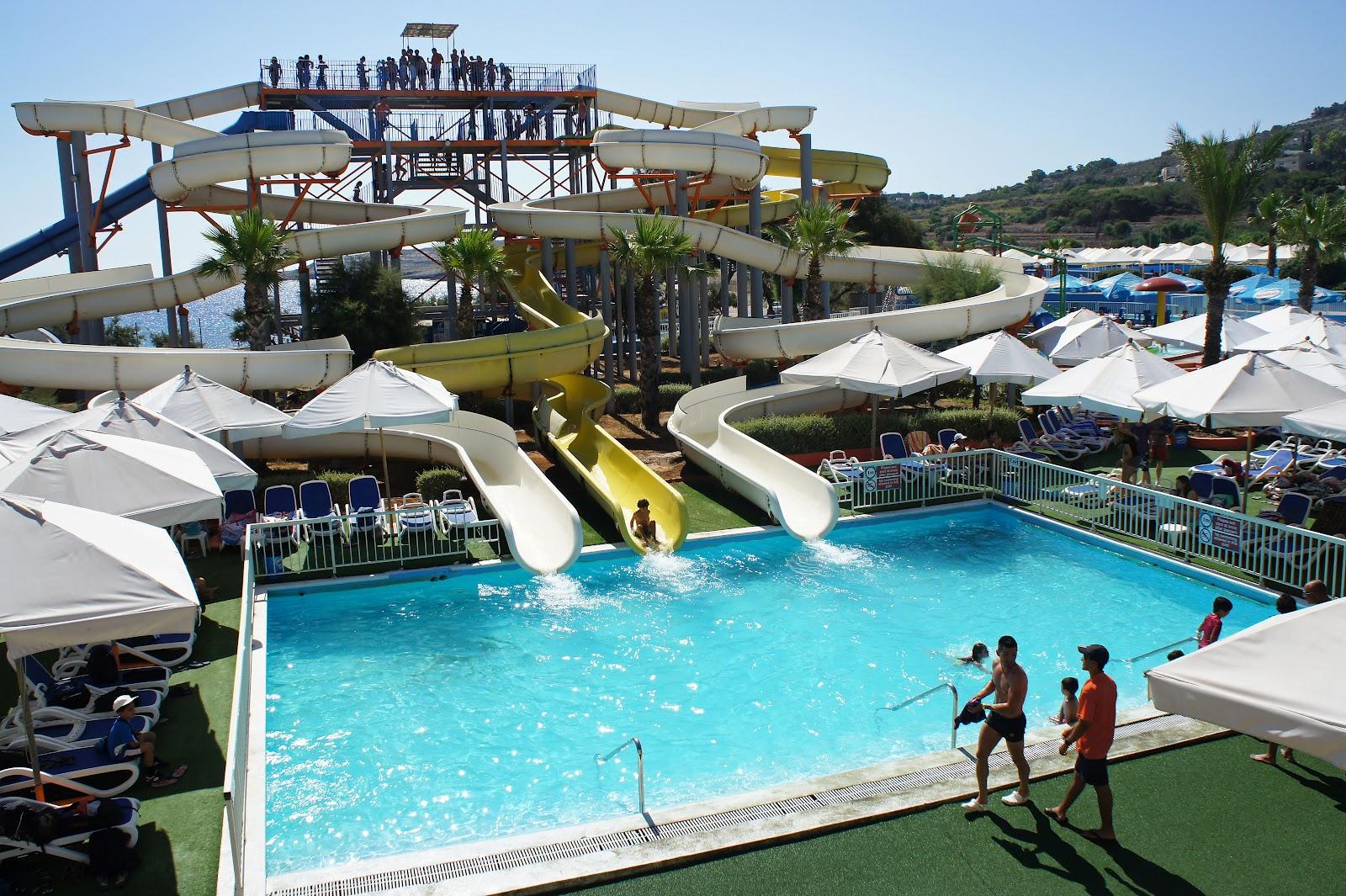 Water Park Slide Splash 'n fun waterpark, malta