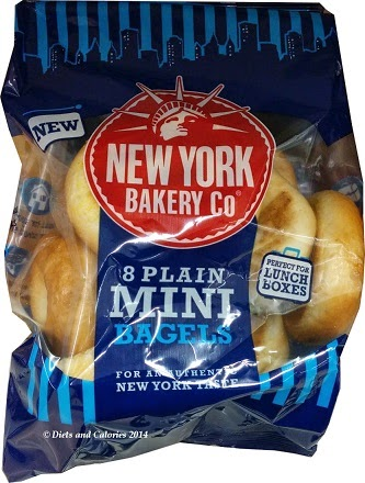 Mini Bagels New York Bakery Plain