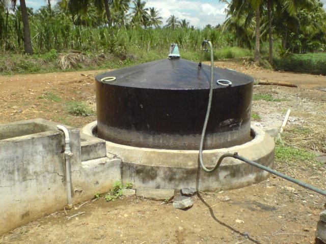 Mini Gas Plant : Vaitheesh waran s biogas plant photos