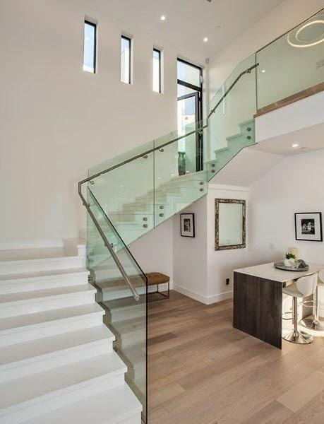Casas minimalistas y modernas las escaleras minimalistas - Escaleras interiores modernas ...