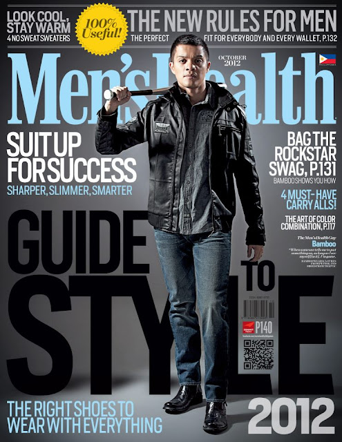 Bamboo Covers Men's Health Guide to Style October 2012 Issue