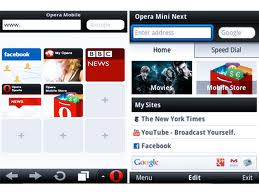 opera mini 7.0, speed dial, latest opera mini