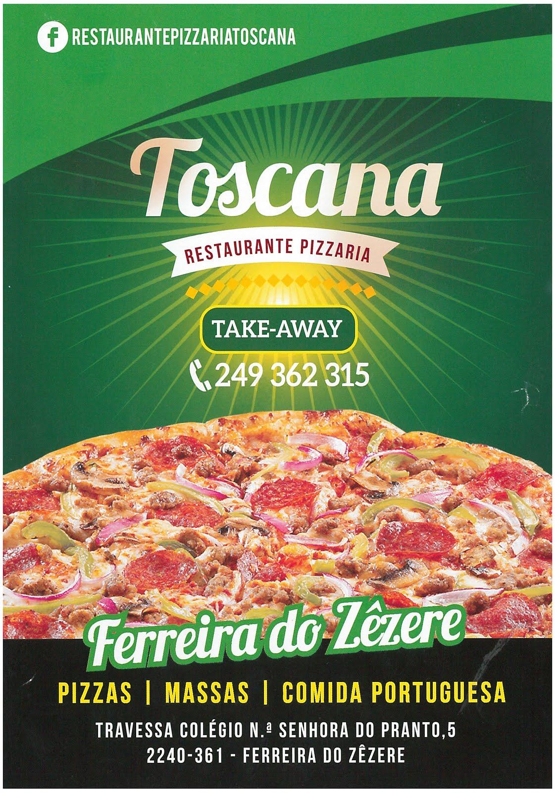 Espaço comercial - Restaurante Toscana em Ferreira do Zêzere
