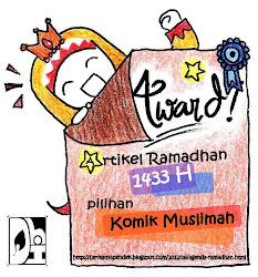 Alhamdulillah, award!! :D