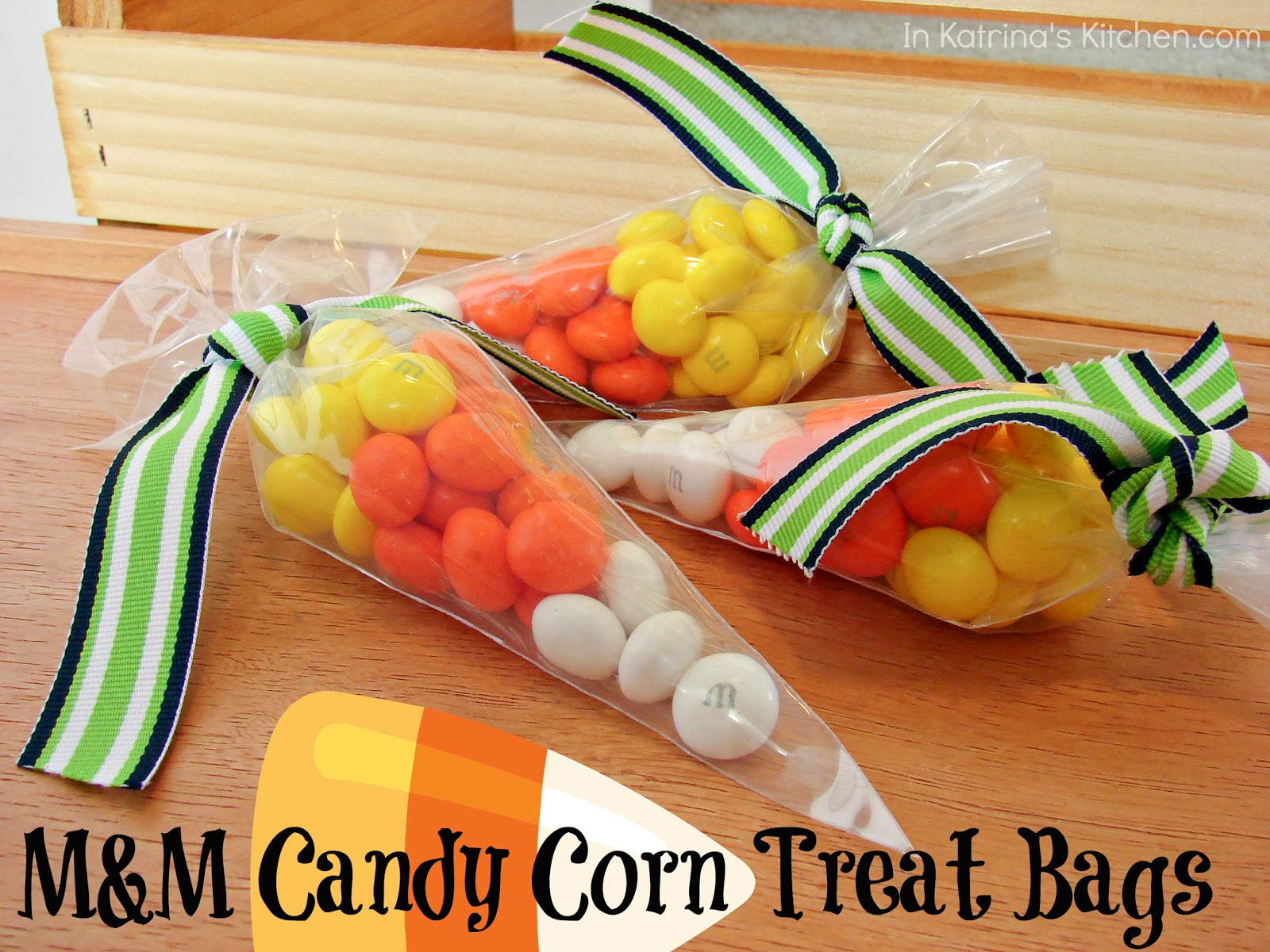 mm candy corn treat bags