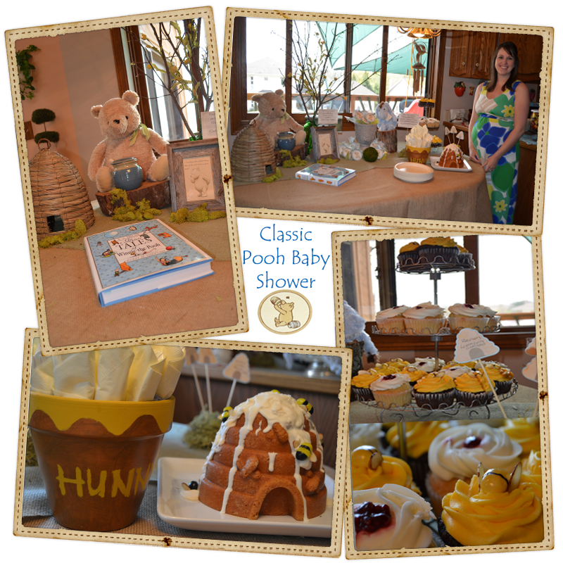Classic Winnie The Pooh Baby Shower Home Line Ideas