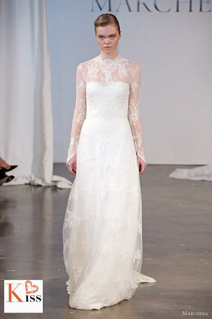 Marchesa Spring 2014 Wedding Dresses