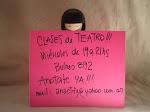 Clases de Teatro 2013