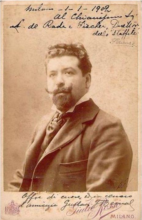 GREAT MEXICAN/ITALIAN BARITONE GUSTAVO BERNAL RESKY (1875 - 1918) CD