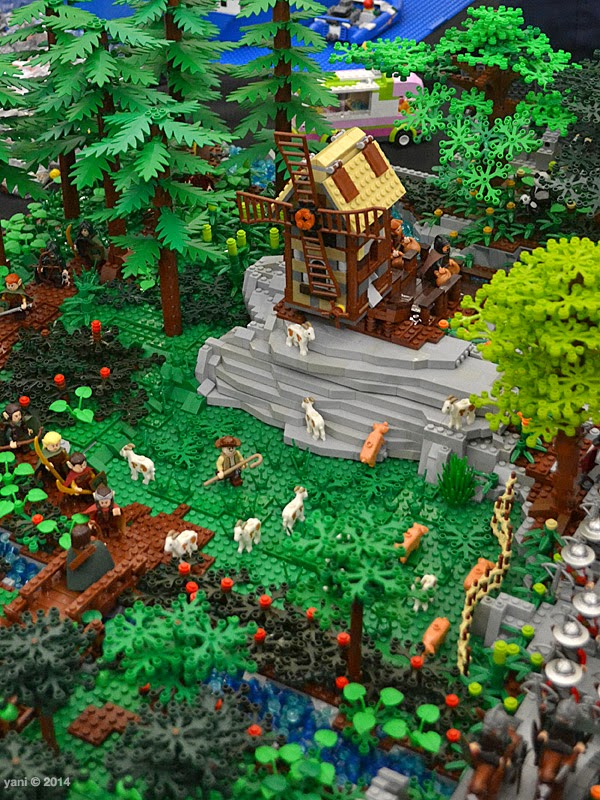 bricktopia - cabin in the woods