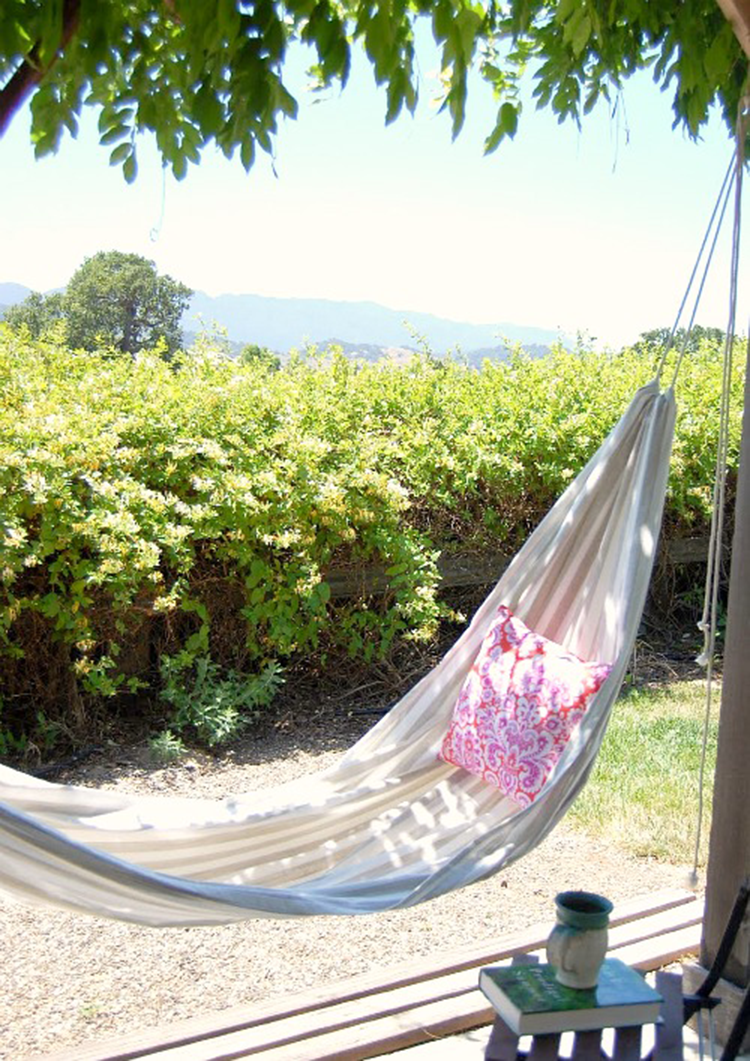 Diy monday hammocks ohoh blog for Rope hammock plans