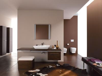 Baños color marrón chocolate  Ideas para decorar, diseñar ...