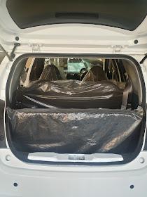 Bagasi belakang Datsun GO+ Panca