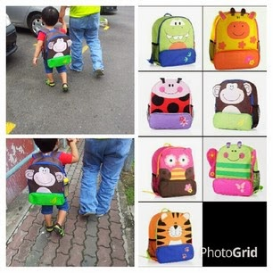 PRE ORDER : BACKPACK KIDS (BIG RM25 not include postage)