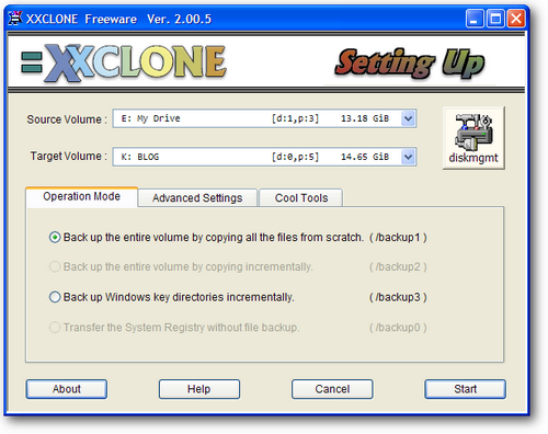 Software cloning harddisk / copy partisi