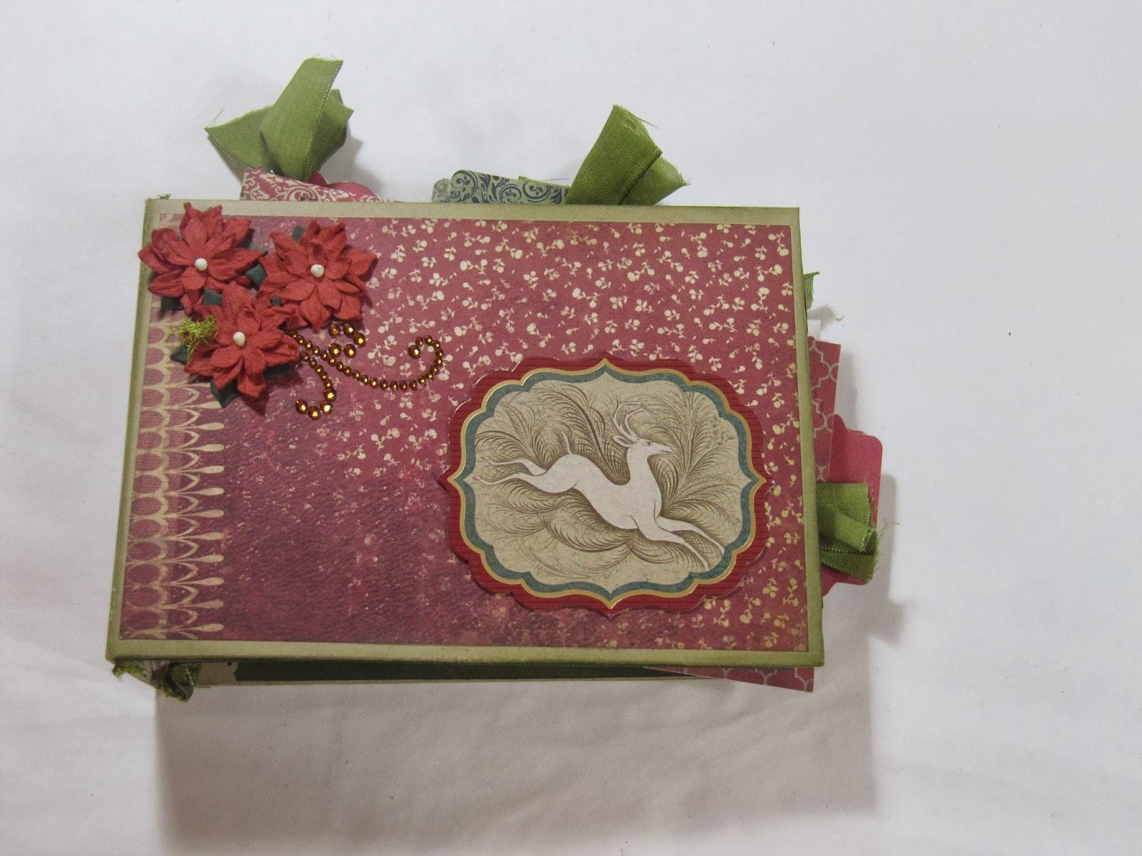 Vintage Scrapbook Cover : Sunshine creations and crafts mini scrapbook album
