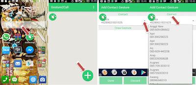 Cara  Menelphone Menggunakan Gesture Hanya Dengan Sekali Sentuh Di Hp Android