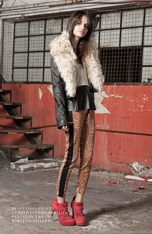 Delaostia moda invierno 2013 abrigos