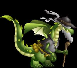 imagen del dragon ciego de dragon city