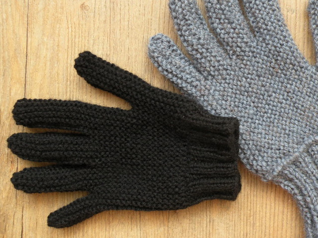 Nice Knitted Gloves Without Fingers Pattern Gallery Sewing Pattern