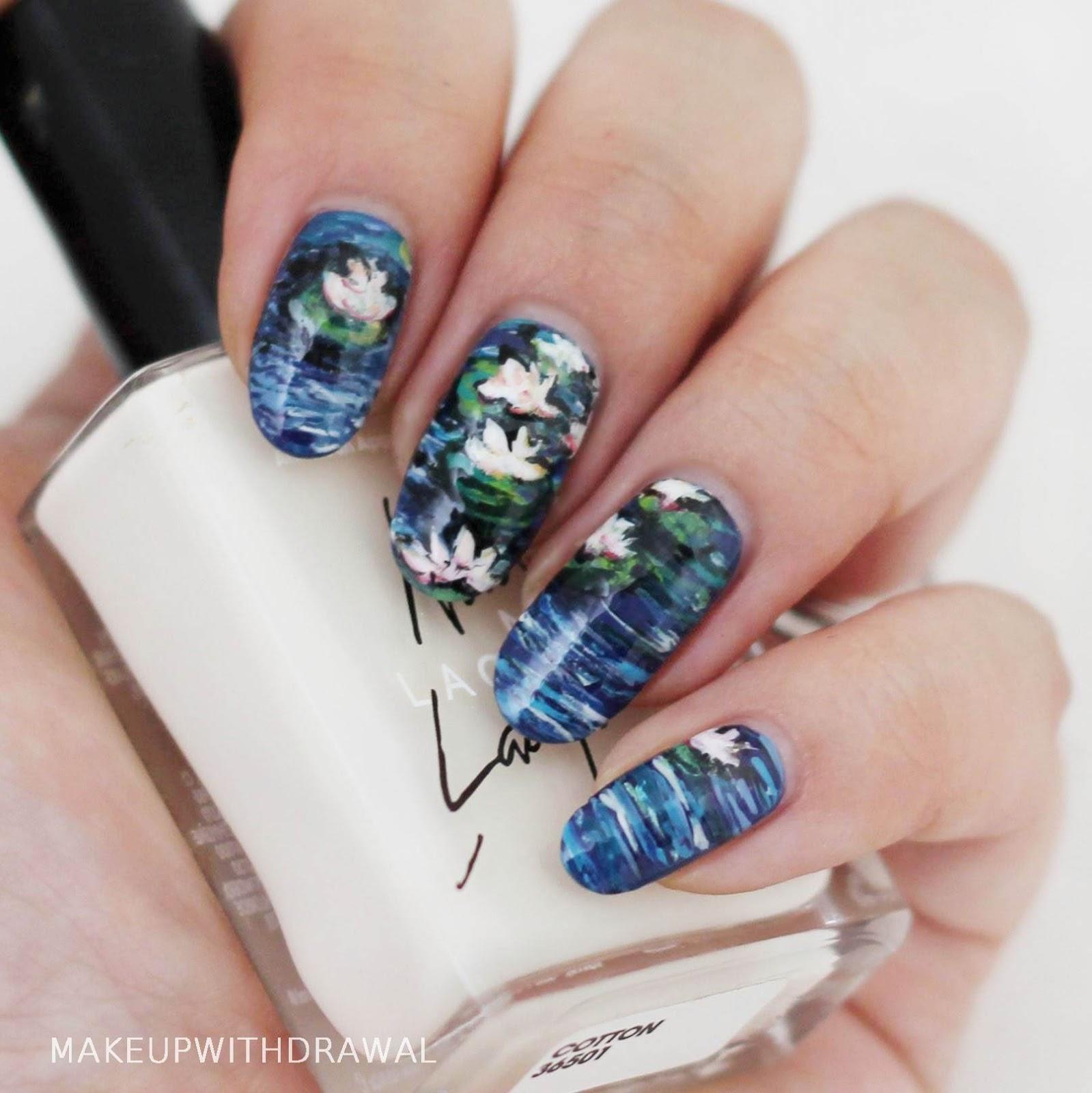 Serum No. 5 Nail Art Spam   Makeup Withdrawal