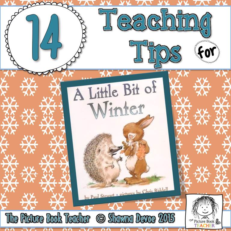 The Picture Book Teacher\'s Edition: A Little Bit of Winter by Paul ...