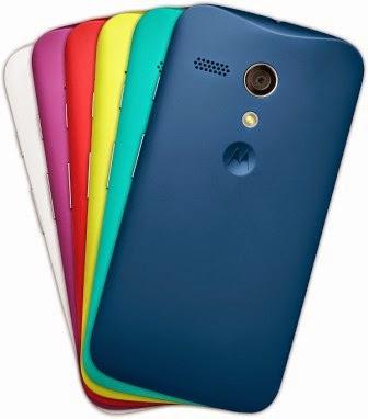 pilihan warna Motorola Moto G
