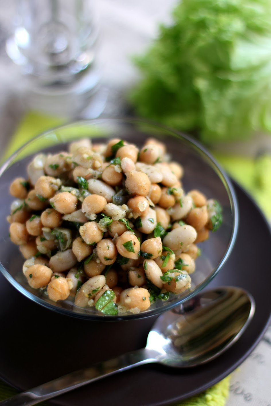 picture Peppery Chickpeas