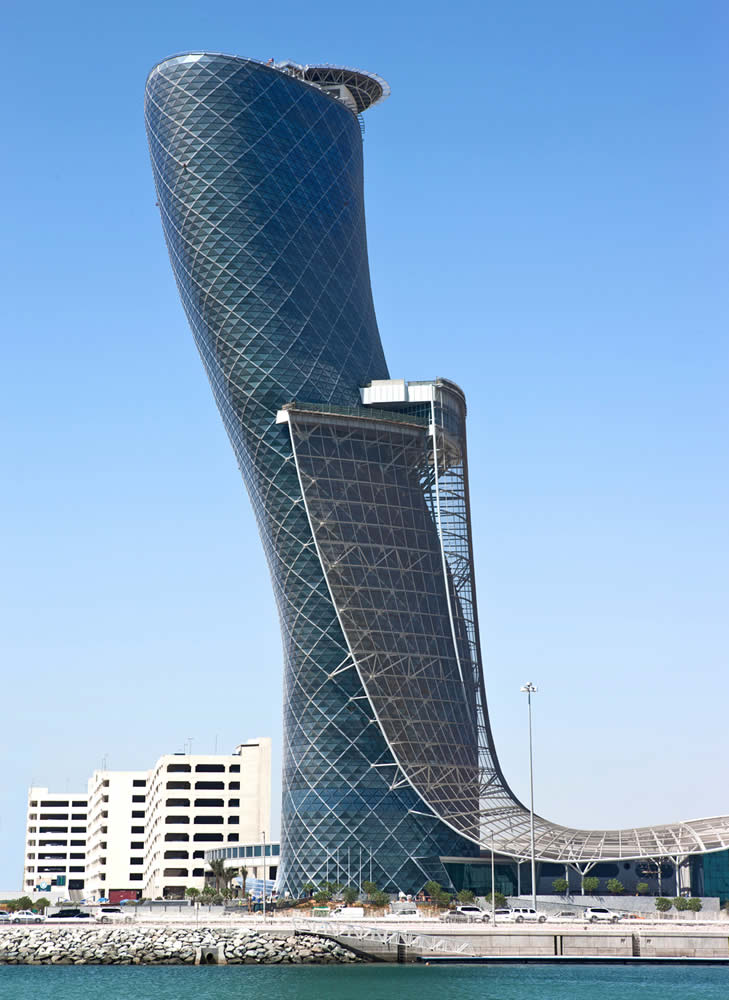Capital Gate Tower, Abu Dhabi