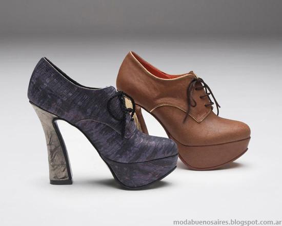 Moda zapatos invierno 2013 Micheluzzi