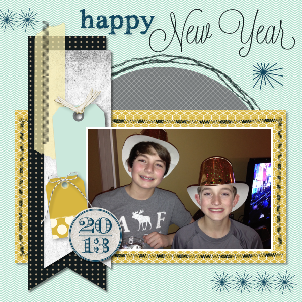 New Year Scrapbook Pages Scrapbook Pages This Year