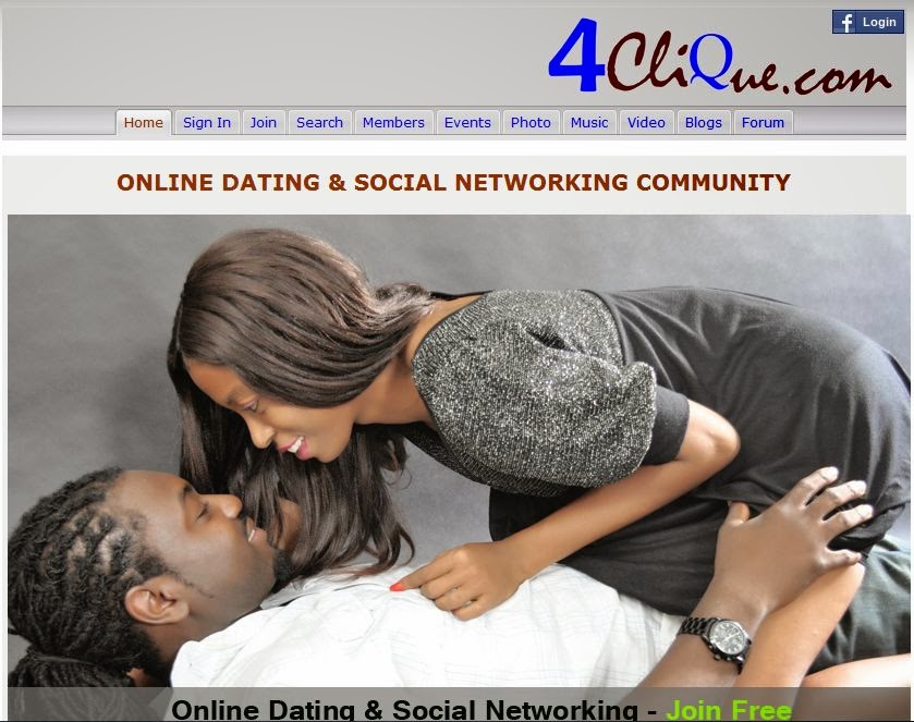 Meet and Date Nigerian Girls at  Clique com   OgbongeBlog   clique website