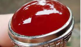 lintas berita, Akik Mahal, Red baron kalsedon