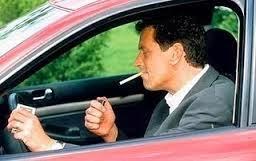 Bahaya Merokok dalam Kendaraan