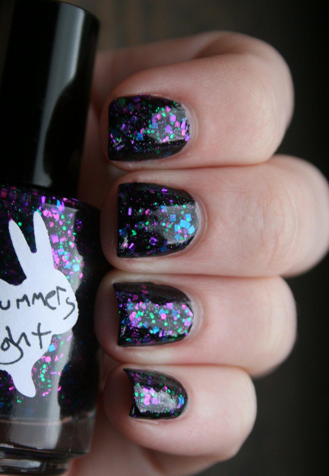 Hare Midsummer's Midnight swatch