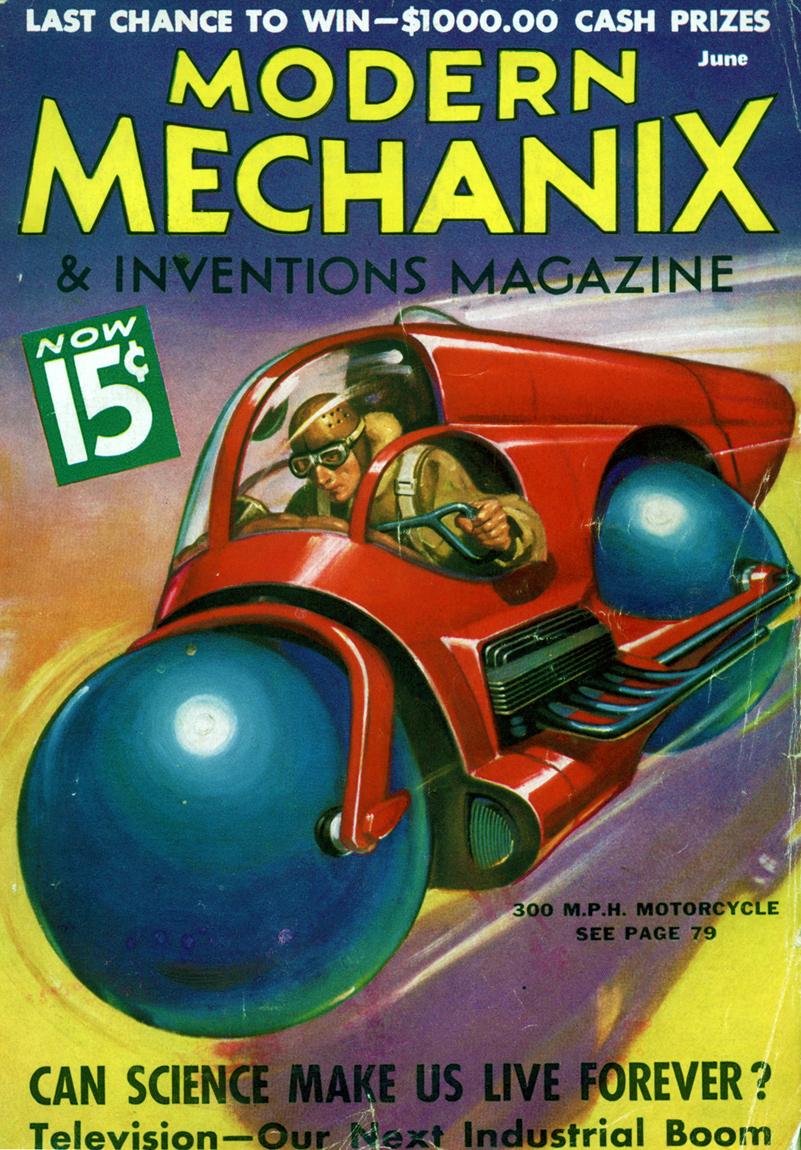 modern mechanix, june 1936 cover