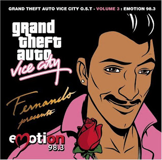 GTA Vice City Emotion 98.3 CD Capa