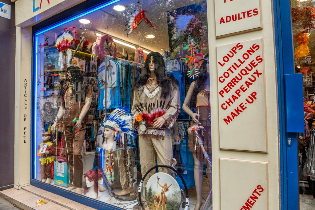 Paris France store adult costumes