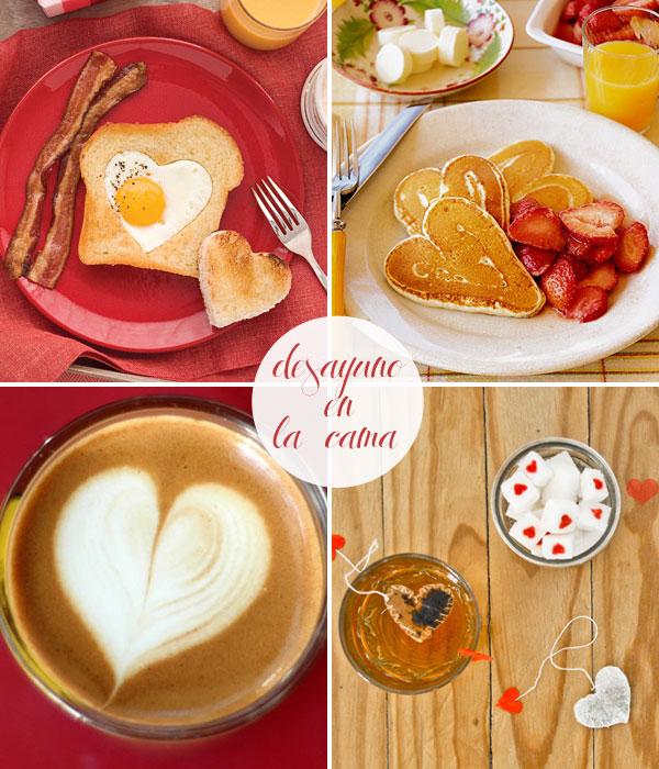 Reinventarse a los 40 - Preparar desayuno romantico ...