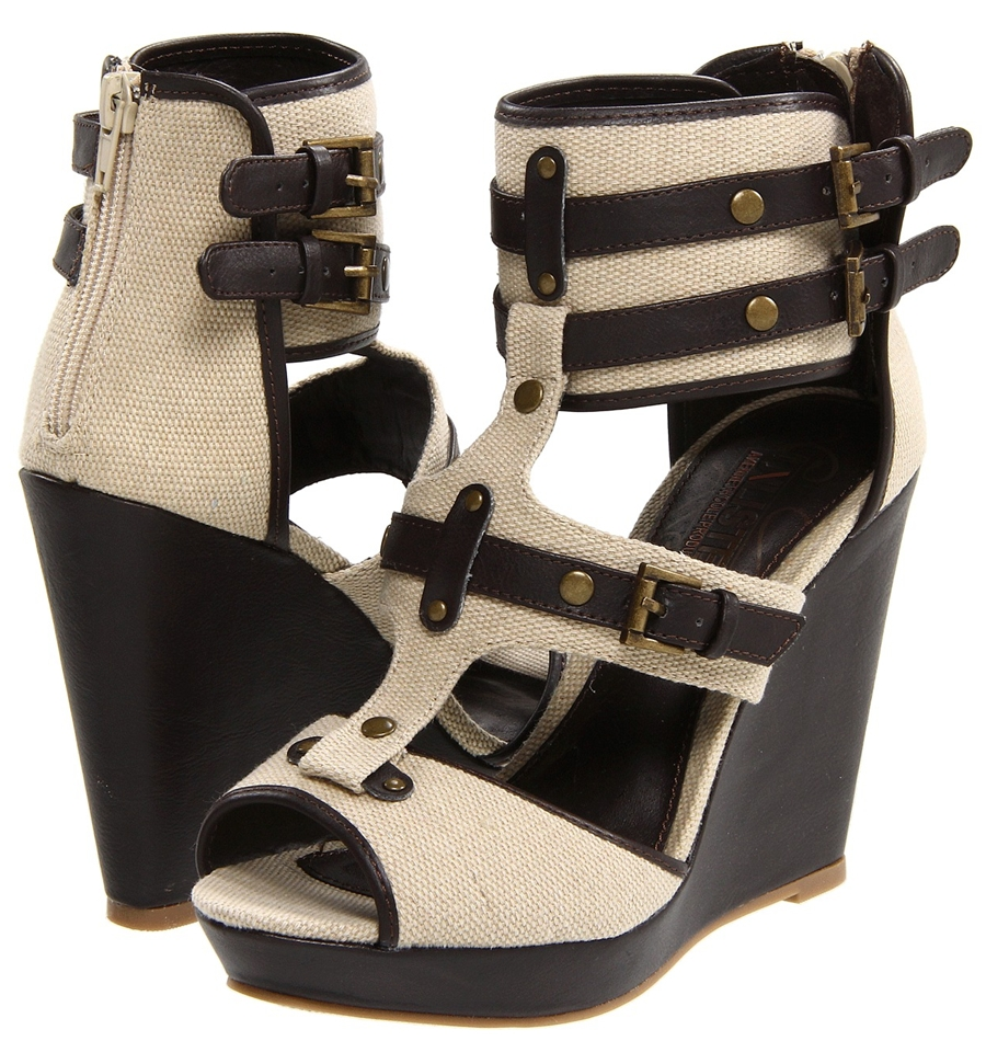 shoe of the day unlisted strike wedges shoeography