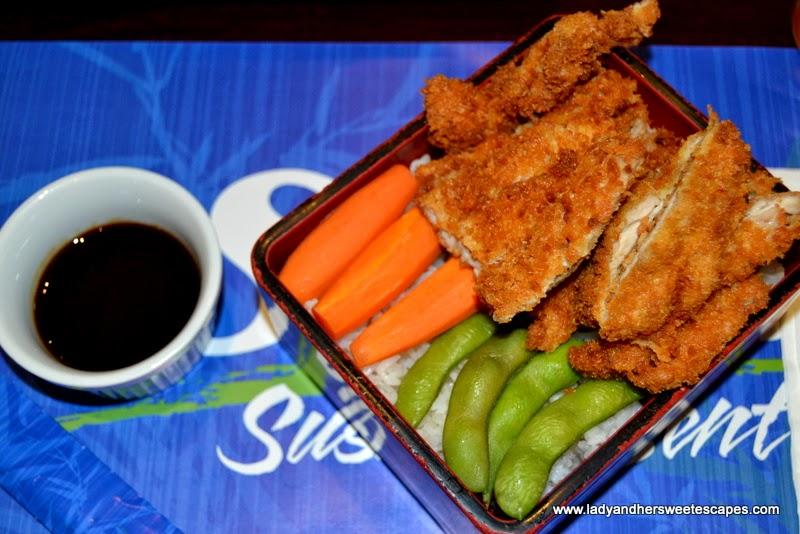 Sumo Sushi and Bento's chicken katsu bento