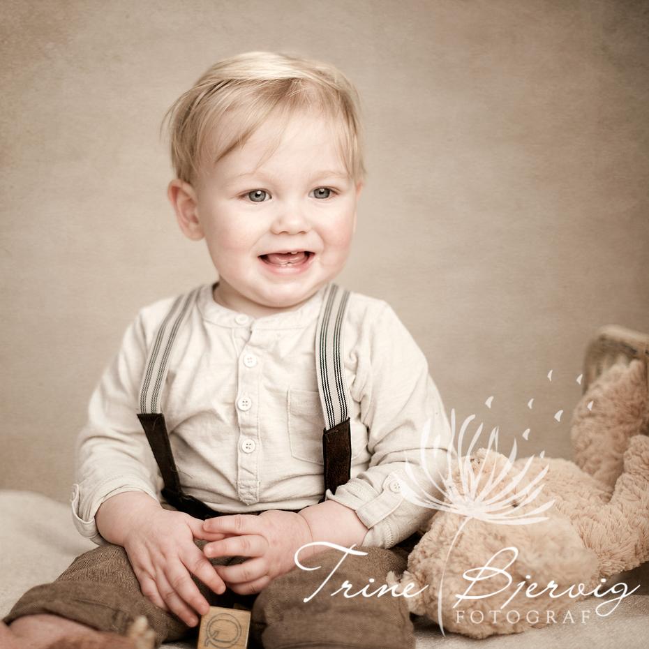 Liten søt gutt, Fotograf Trine Bjervig