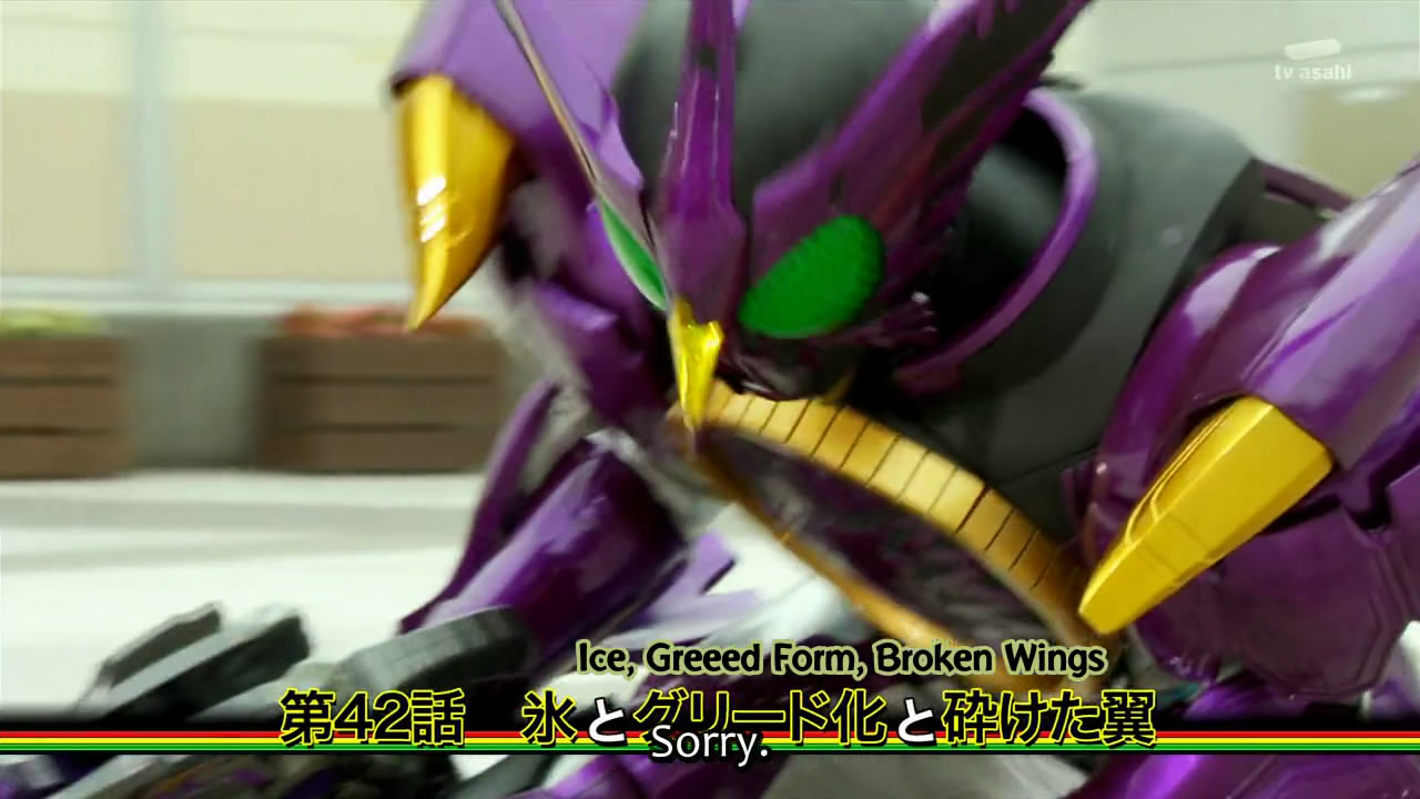 Harits Tokusatsu: Kamen Rider OOO Episode 42- \