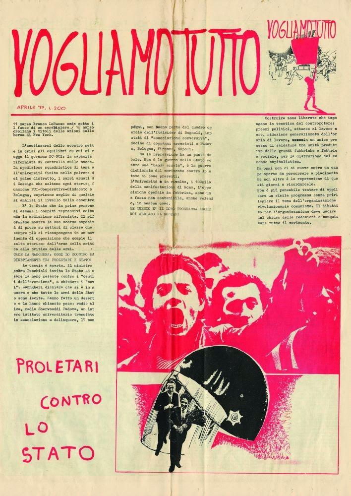 VOGLIAMO TUTTO! Arte e poesia negli anni di piombo (1967-1982) (pdf)