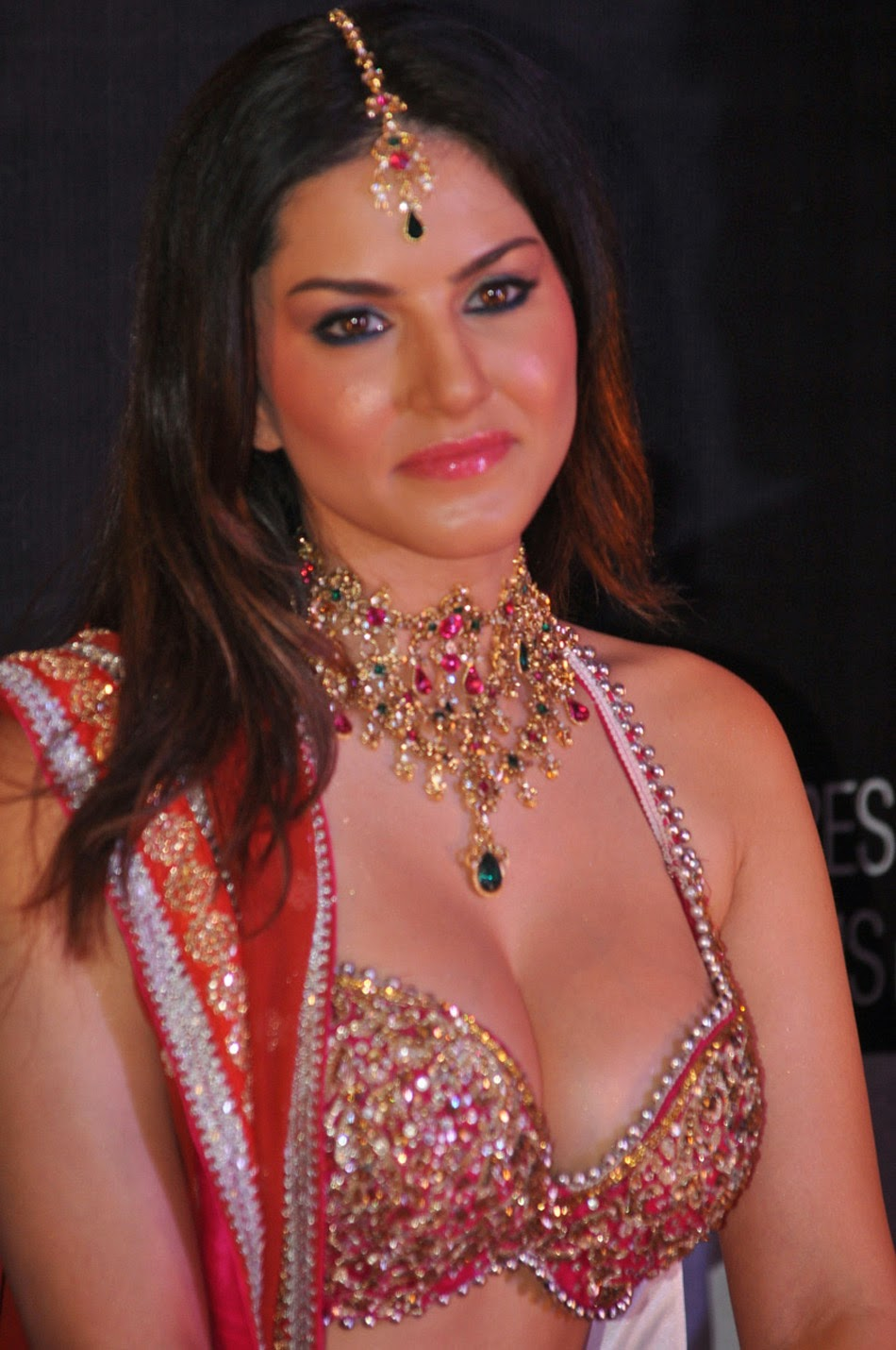 Sunny Leone Cleavage Close-Up Unseen rare Naked Nude Pics