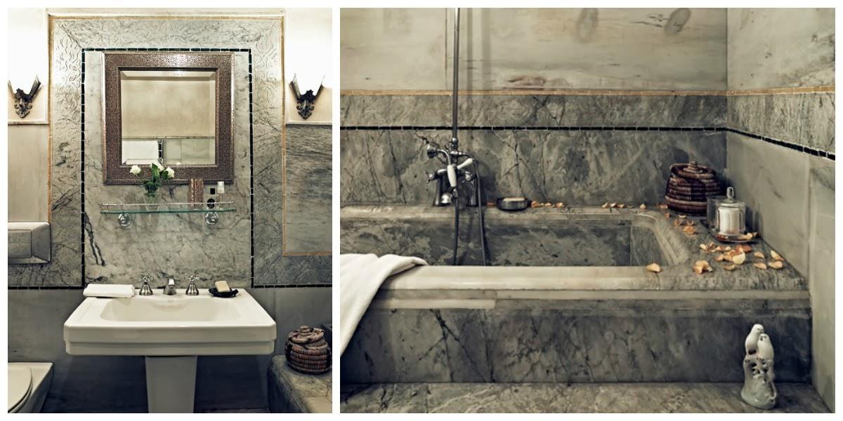 El tiempo entre costuras, Marruecos, La Musa Decoración, Baño, Bathroom