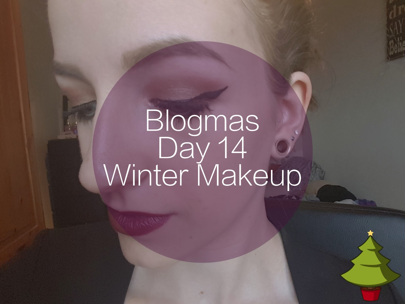 Winter Makeup of the Day MOTD