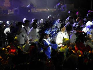 Samba dance demonstration