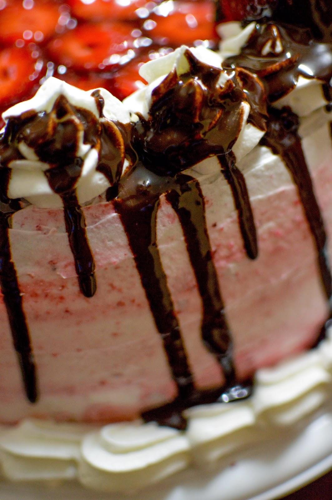 Baño De Torta Sencillo:ENDULZA TU ALMA: Torta de frutillas